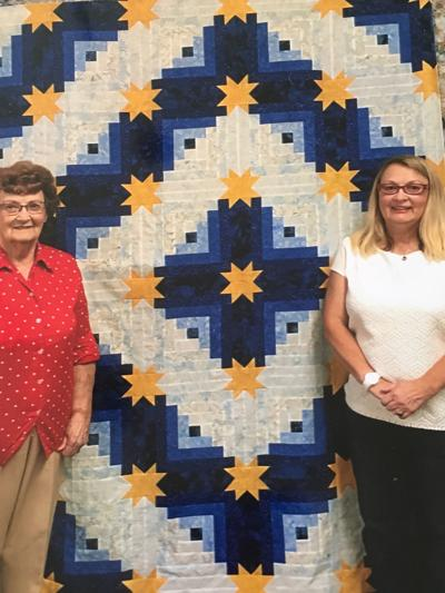 'Starburst' is the 2019 Raffle Quilt