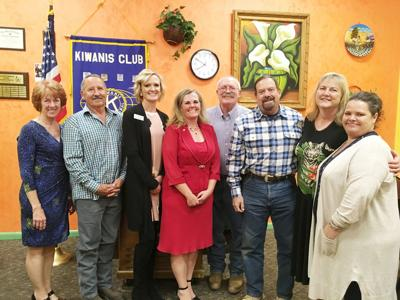 New Kiwanis officers announced