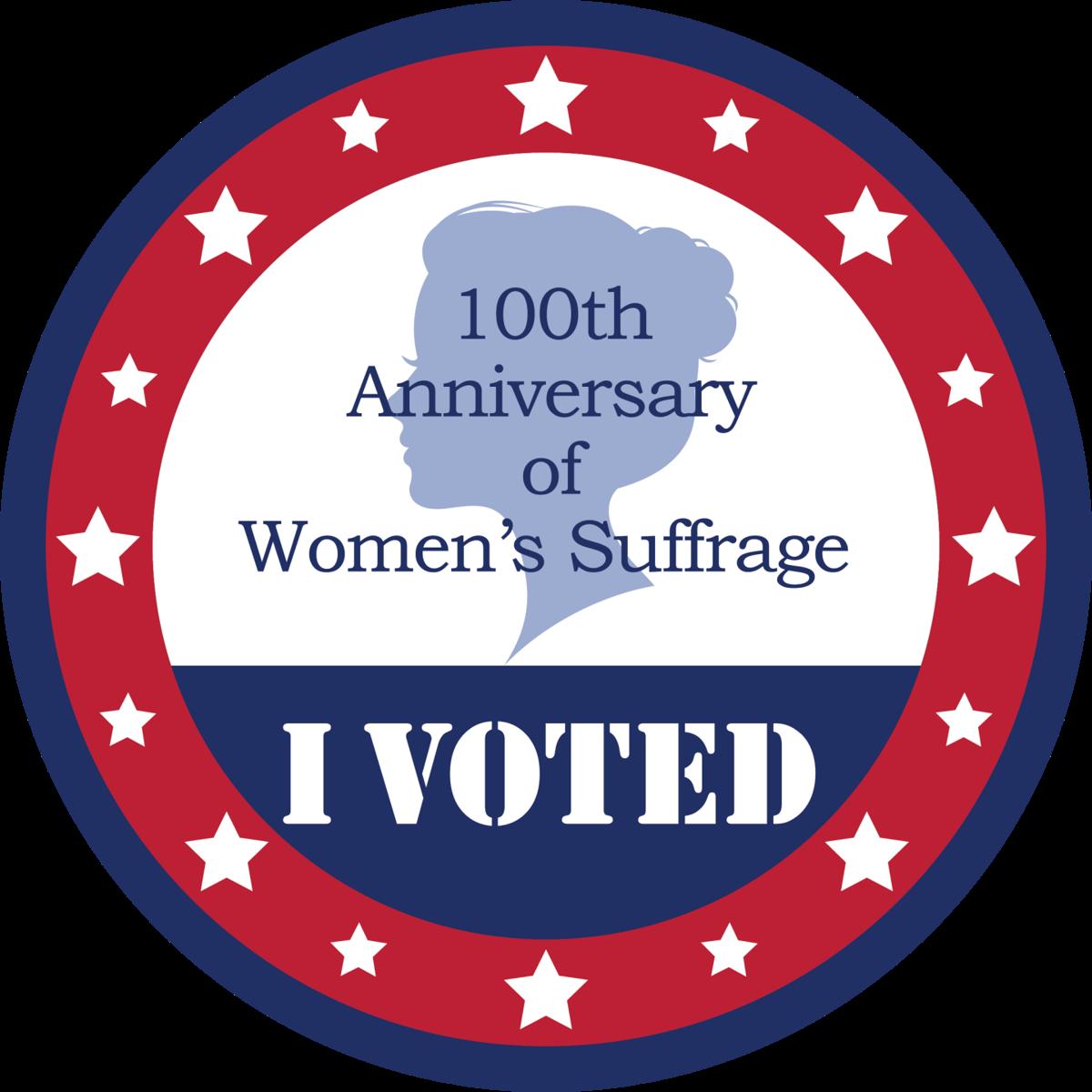 100th Anniversary of Women's Sufferage