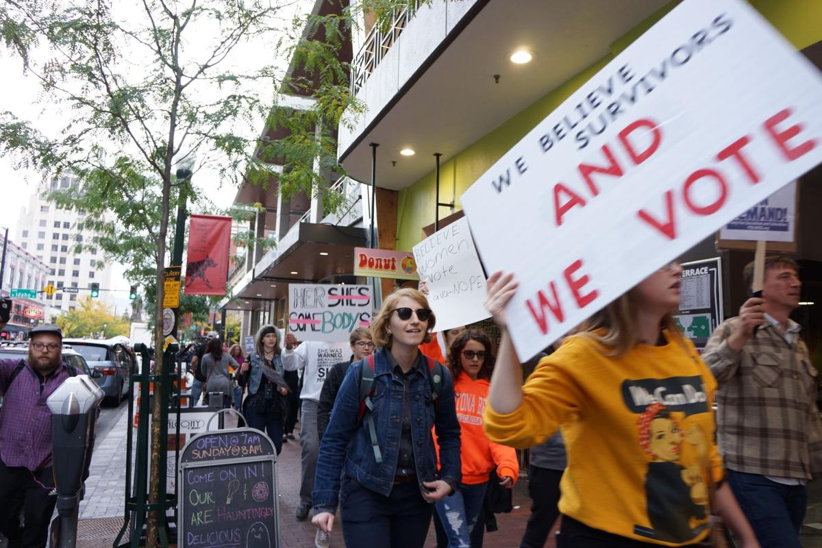 Boise Protest Against SCOTUS Nominee Says 'Kava-Nope'