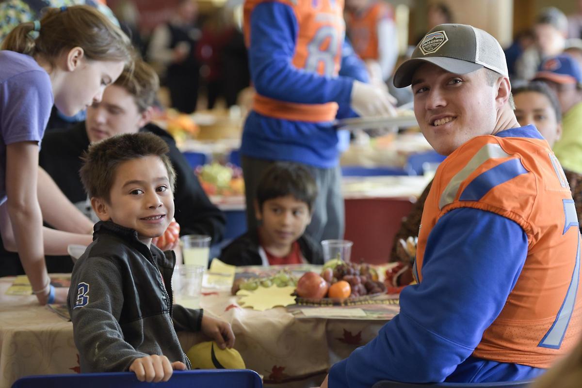 Boise Rescue Mission Thanksgiving