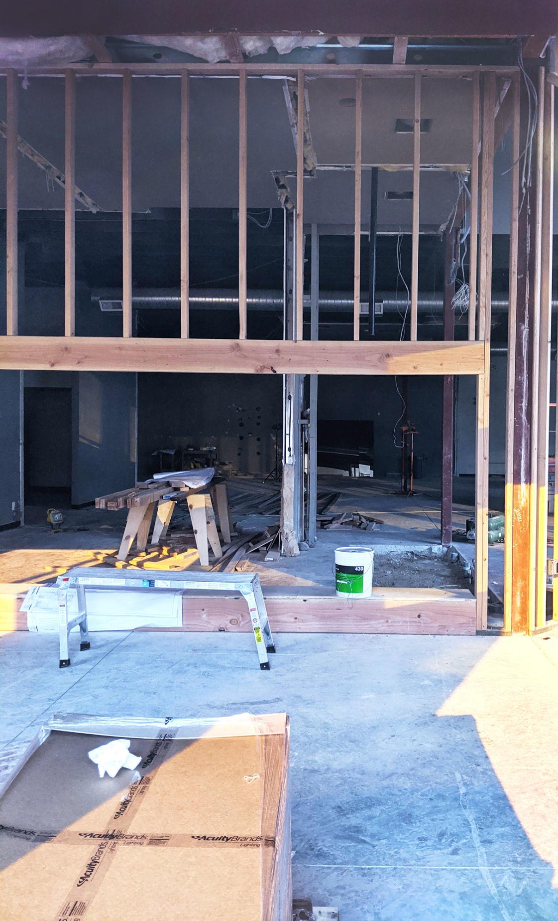 New Kuna Post Office construction