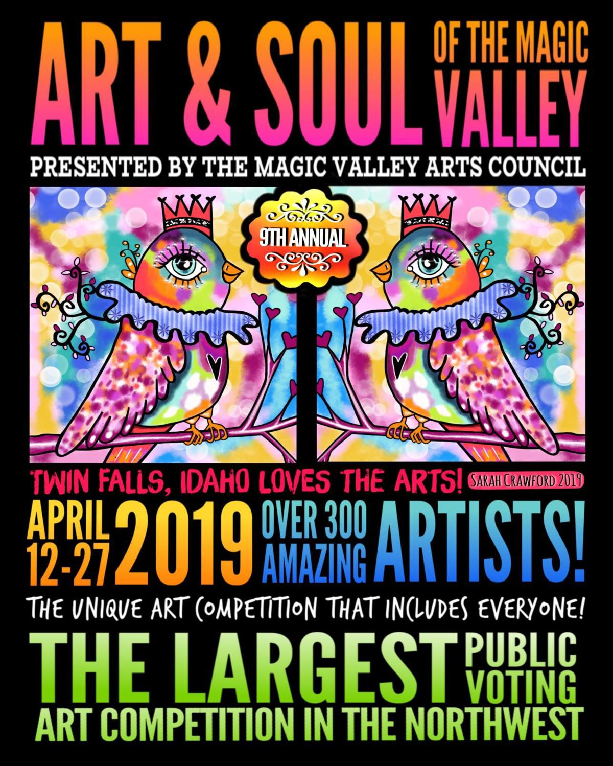 Art and Soul poster 2019