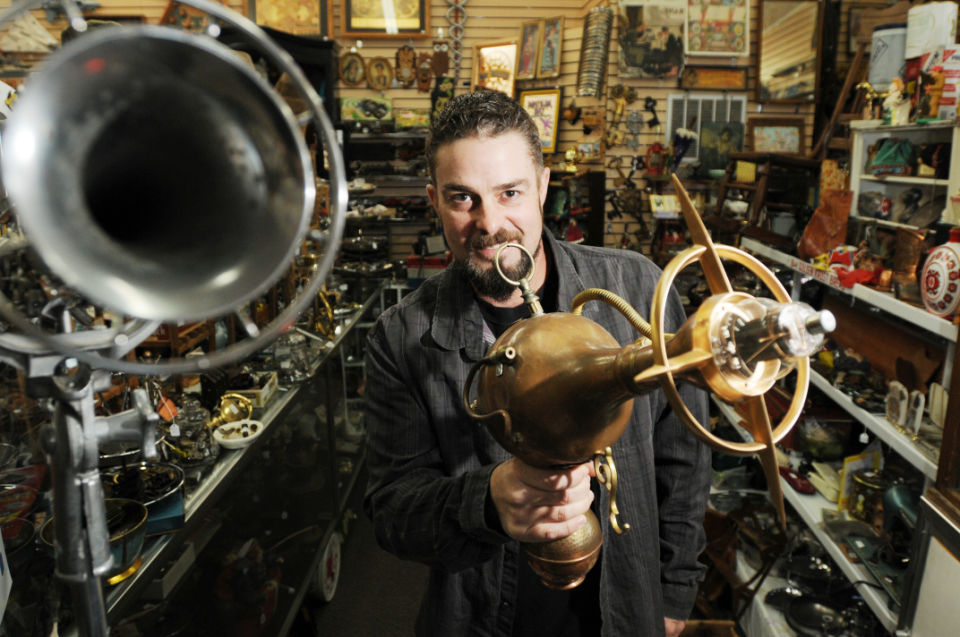 Nampa Antique Store Creates One-of-a-kind Oddities
