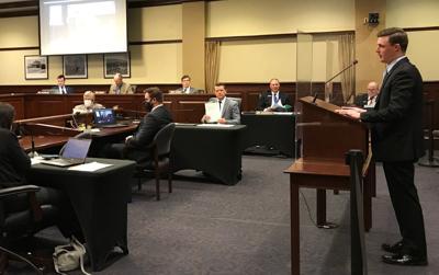 Ben Adams presents bill to committee 2-22-21