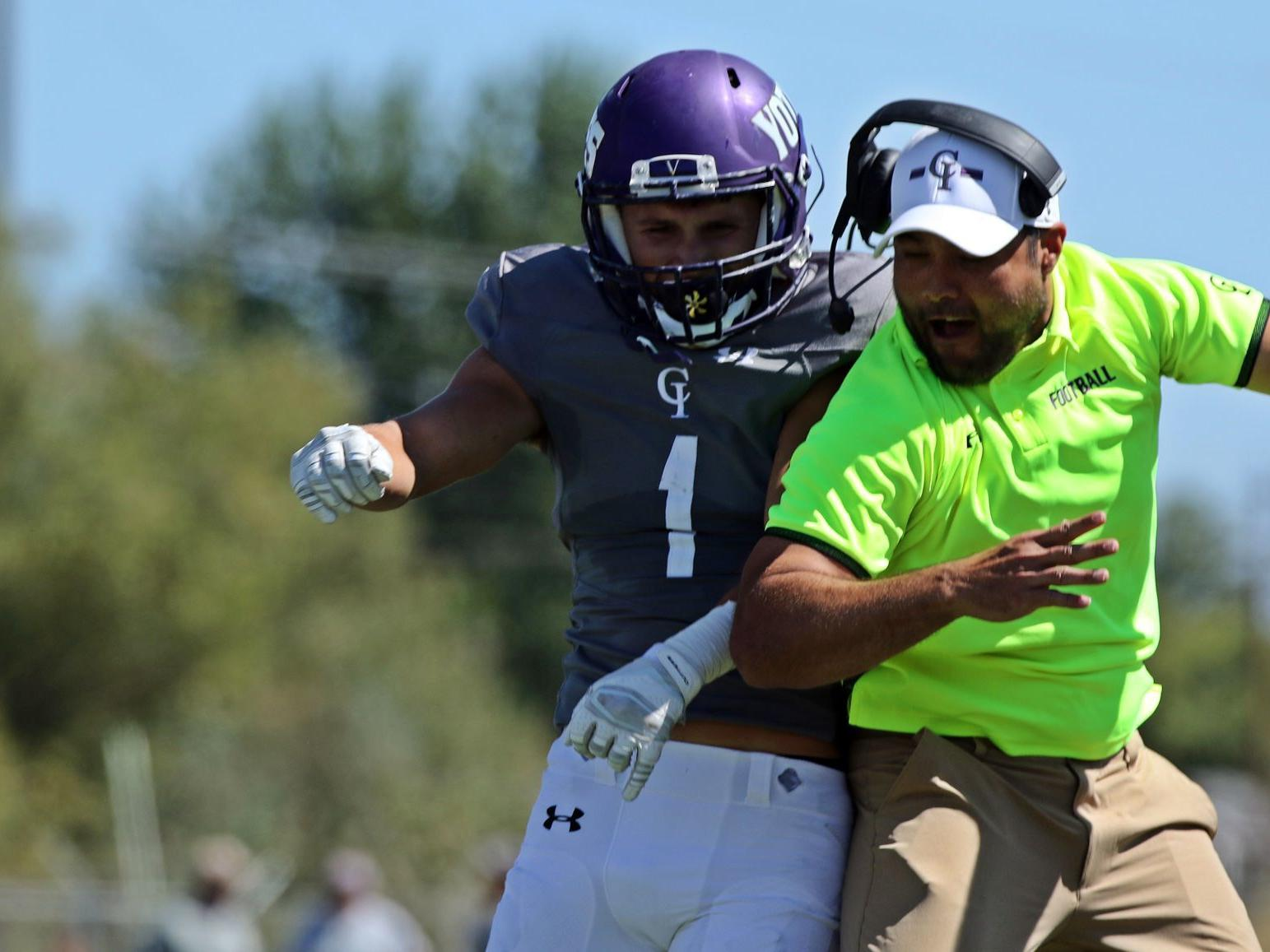 Notebook College Of Idaho S Alesi Records First Interception In A Long Time Idaho College Sports Coverage Idahopress Com