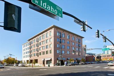 Downtown Boise apartment buildings