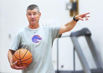 BSU Basketball Coach Leon Rice