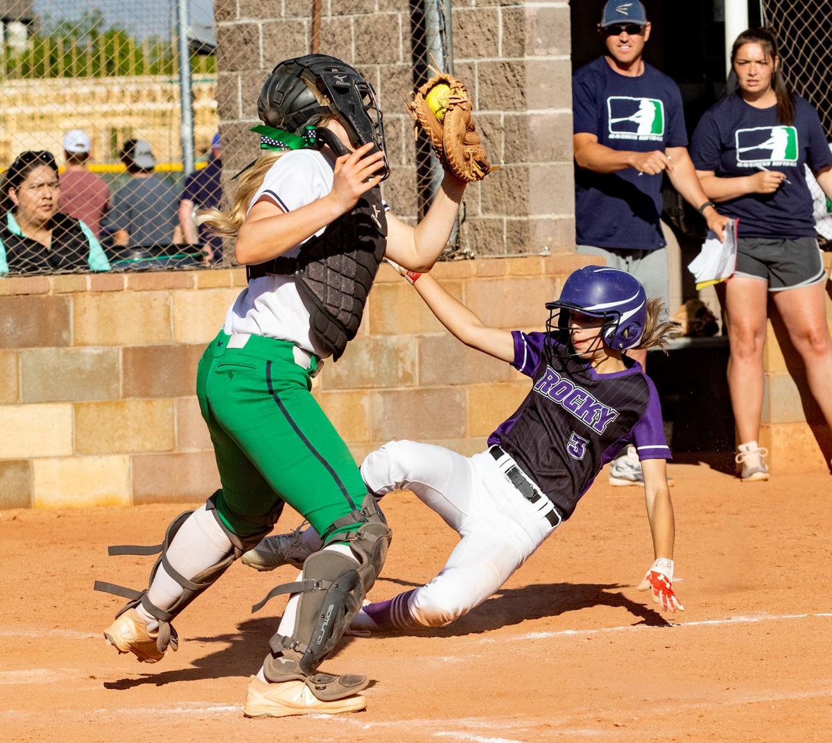 Mountain View vs. Rocky Mountain softball
