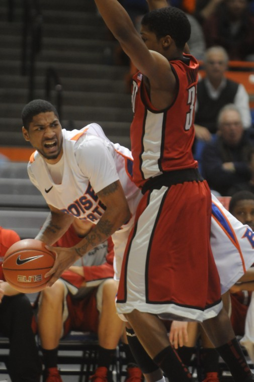 Boise State versus UNLV basketball