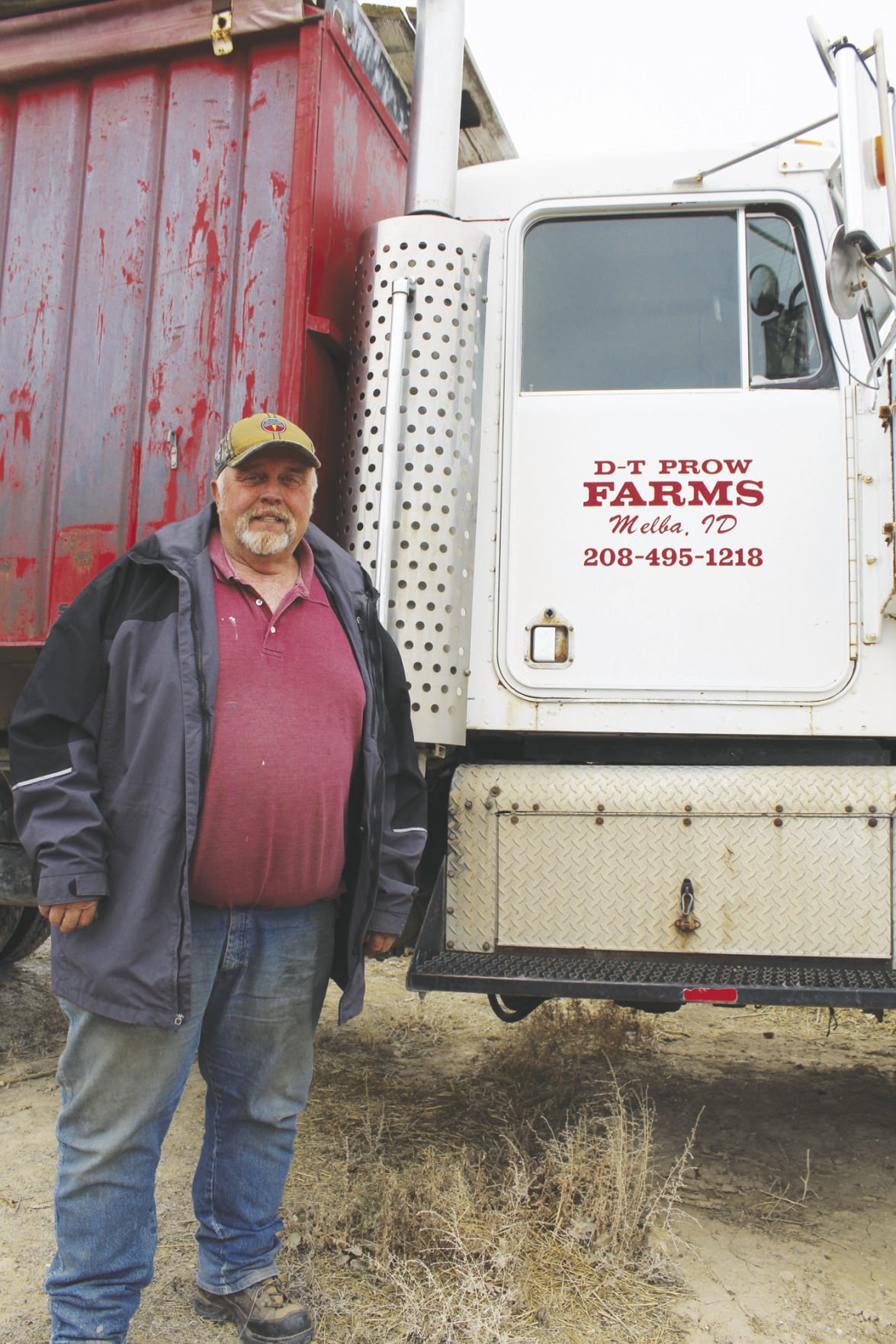 Melba farmer Dave Prow