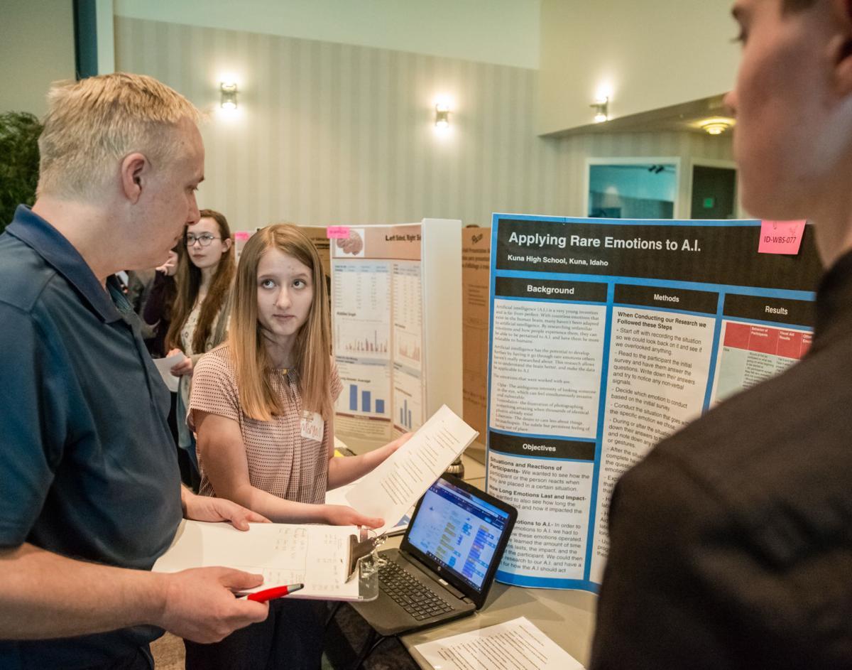 Kuna students compete in engineering Idaho's future