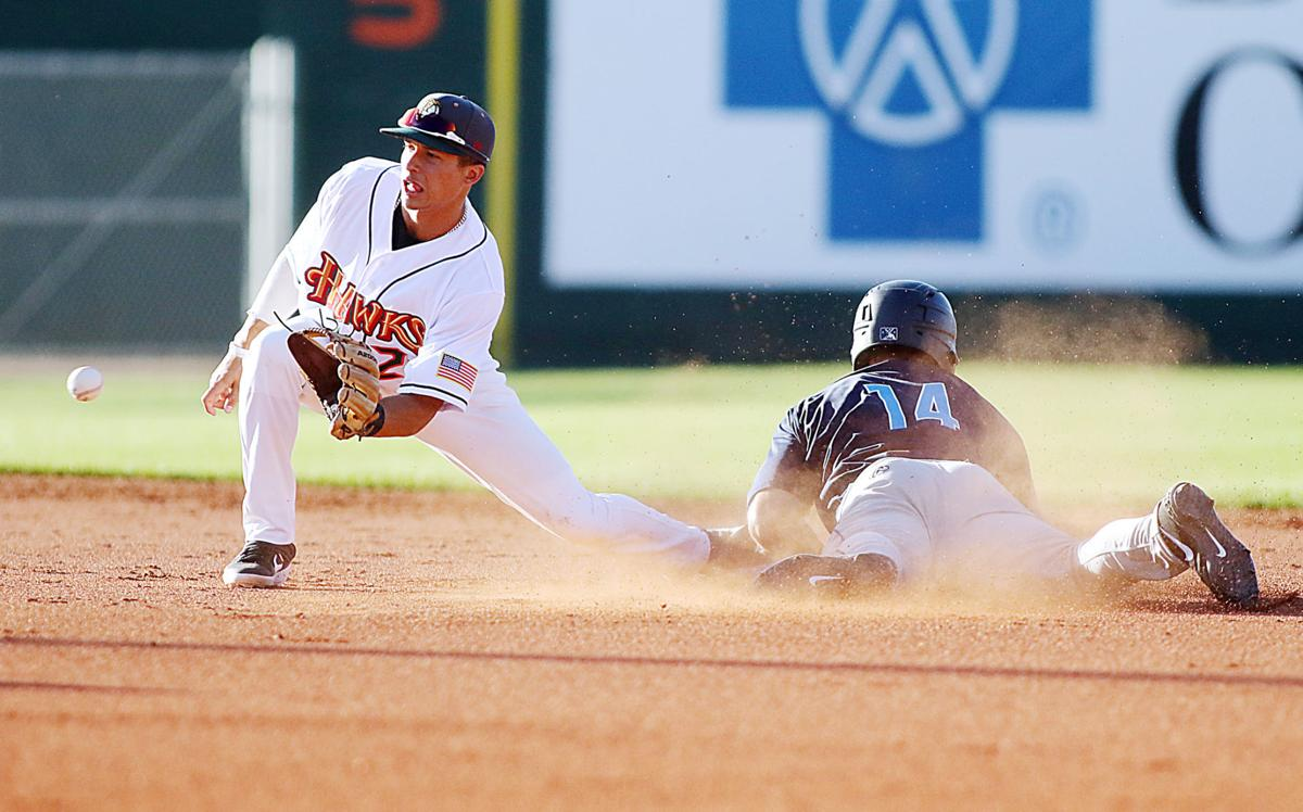 Boise Hawks Baseball opening night