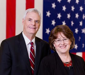 Sen. Brent Hill and wife Julie