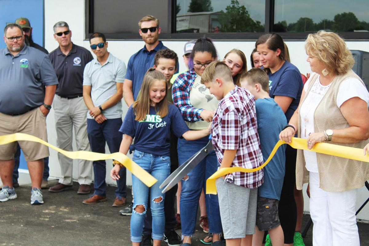 Fremont Middle School ribbon-cutting