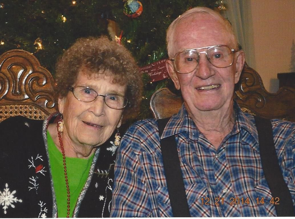 Happy 73rd anniversary to Donald and June Hastriter
