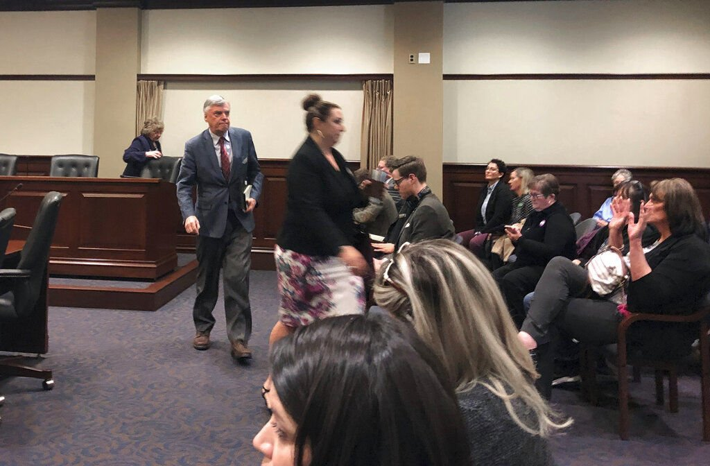 Redistricting Commission walkout