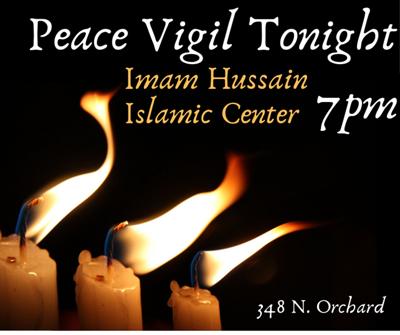 Boise peace vigil for Christchurch