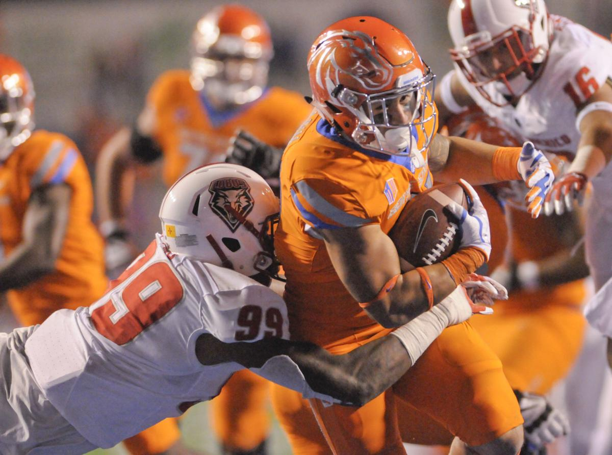 Boise State vs New Mexico Football
