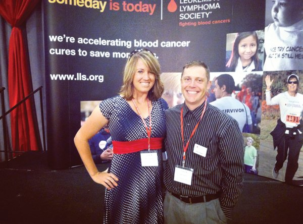... Lymphoma Society staff member in Washington, D.C., where the pair advocated for the organization to congressmen and representatives from Idaho .