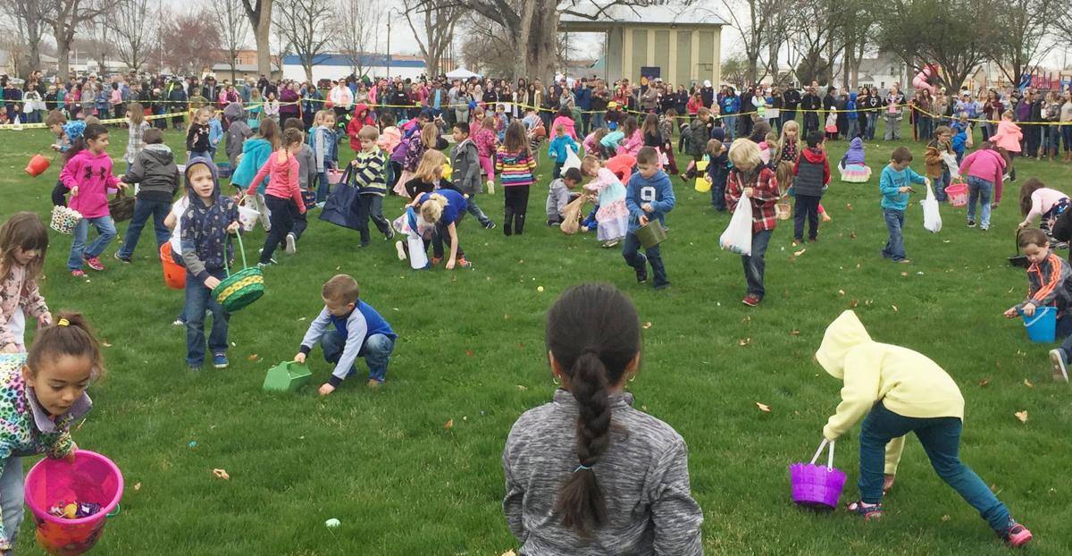 Annual Easter Egg hunt is on 3