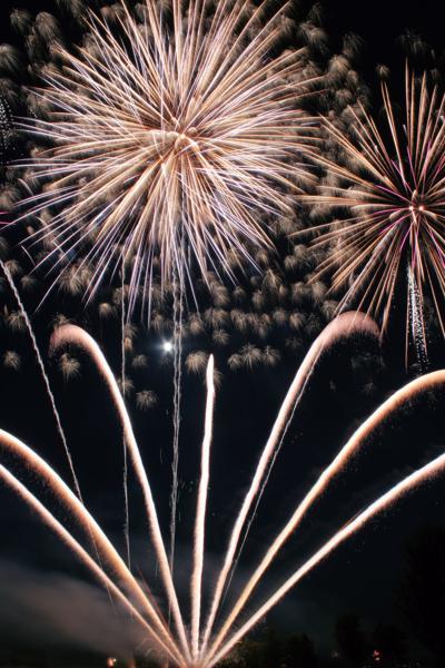 Fourth reader photos, fireworks