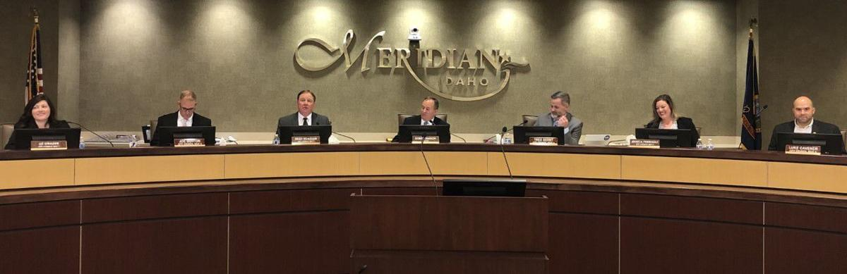 Meridian City Council swearing in