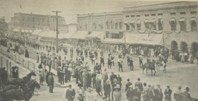 1912: Emmett parade