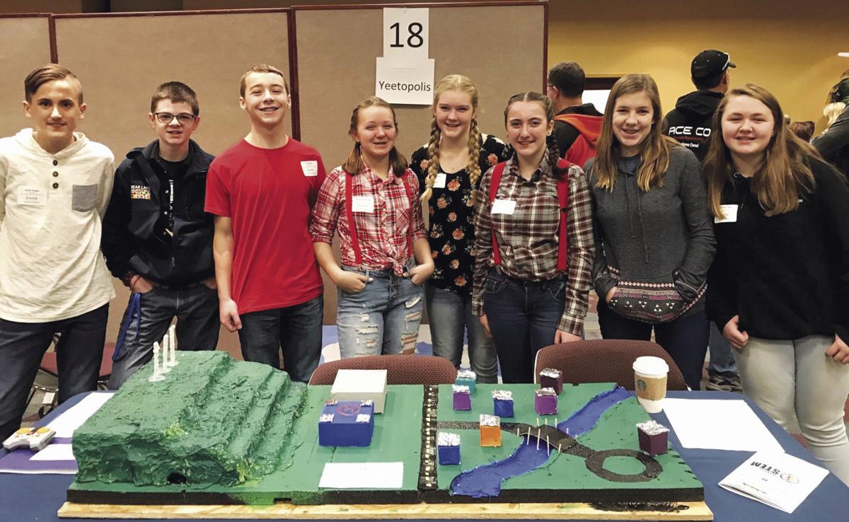 Falcon Ridge students present Yeetopolis