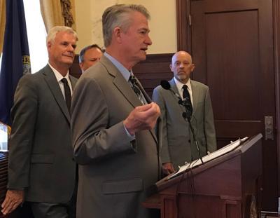 Brad Little admin rules press conference