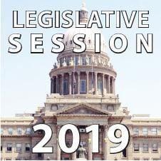 2019 Idaho Legislative Session logo