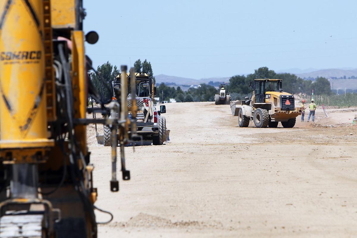 Owyhee High School construction