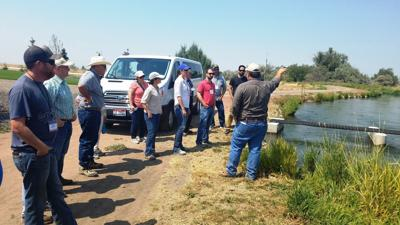 NMID with Bureau of Reclamation employees
