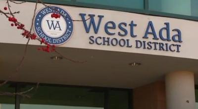 West Ada School District sign on front of building