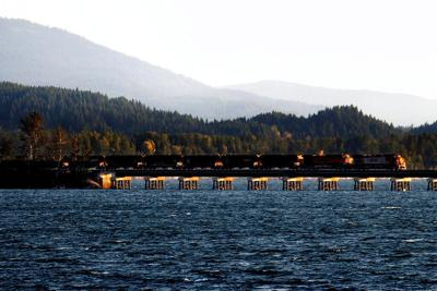 Railroad Bridges Idaho