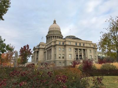 Idaho state Capitol fall 10-21-19