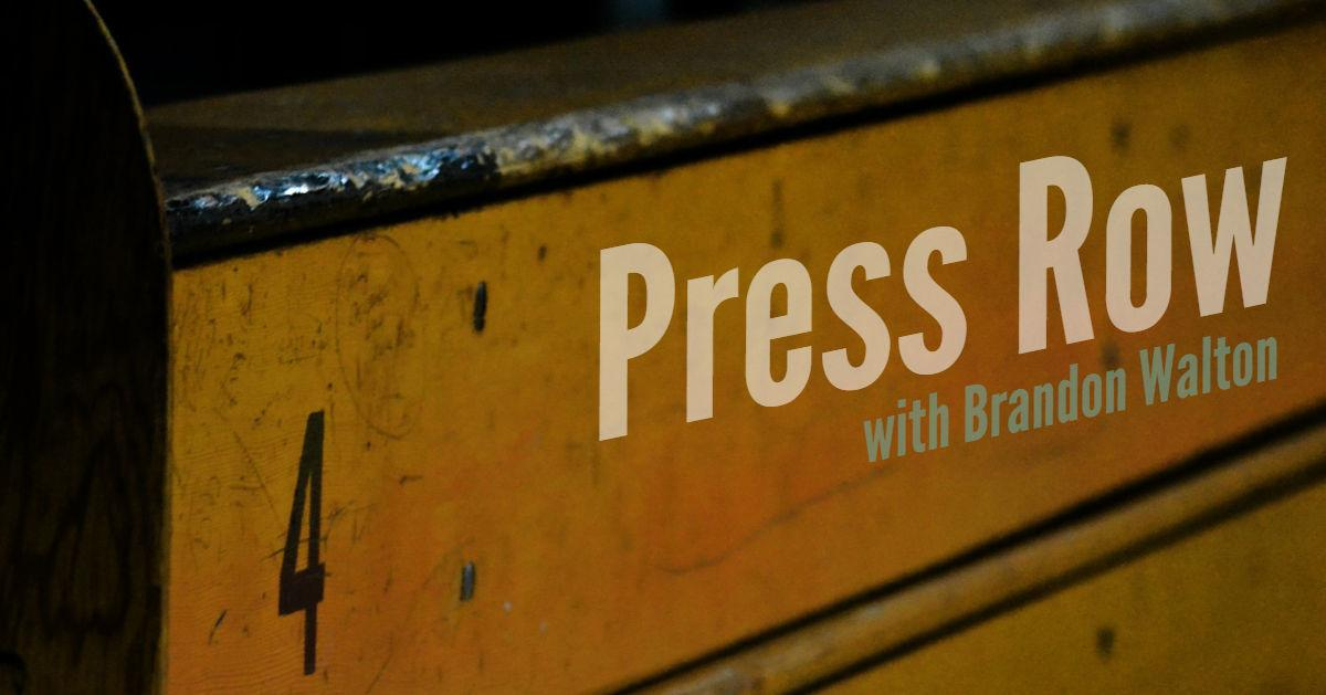 Press Row logo