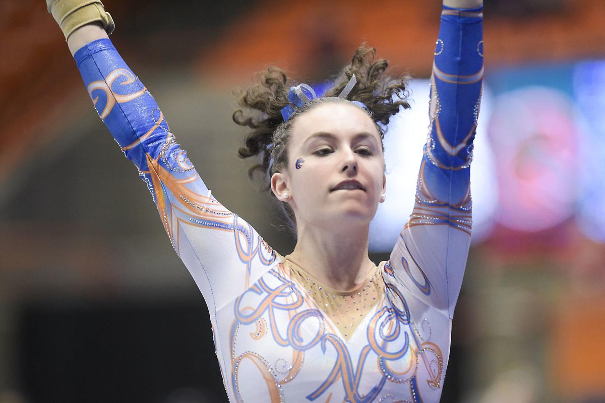 No. 11: Gymnastics wins fourth straight conference title, ranked No. 15