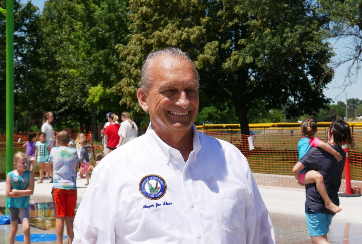 Mayor Stear splash pad