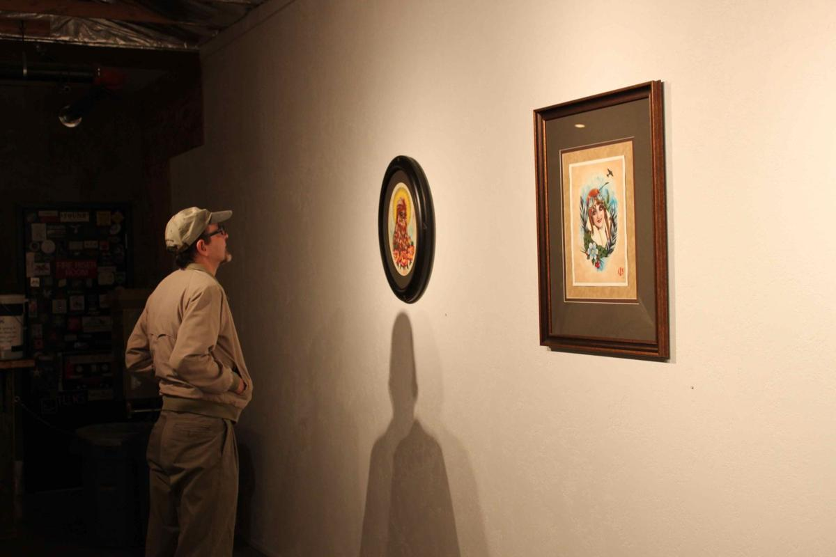 Travis Campion Exhibit Opening at Visual Arts Collective