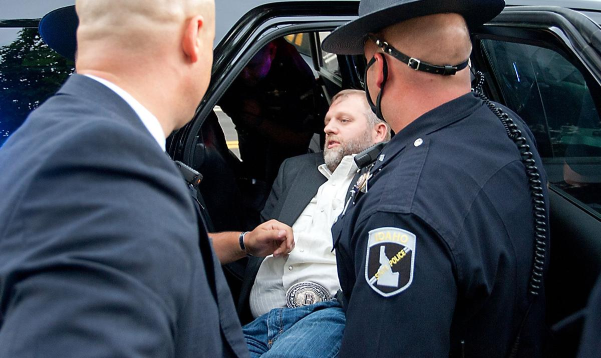 Ammon Bundy arrested at Idaho State Capital