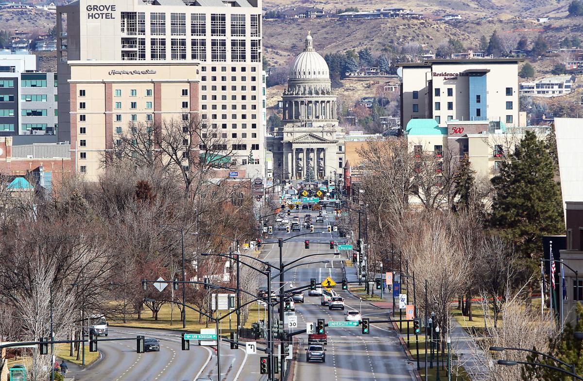 Capitol skyline