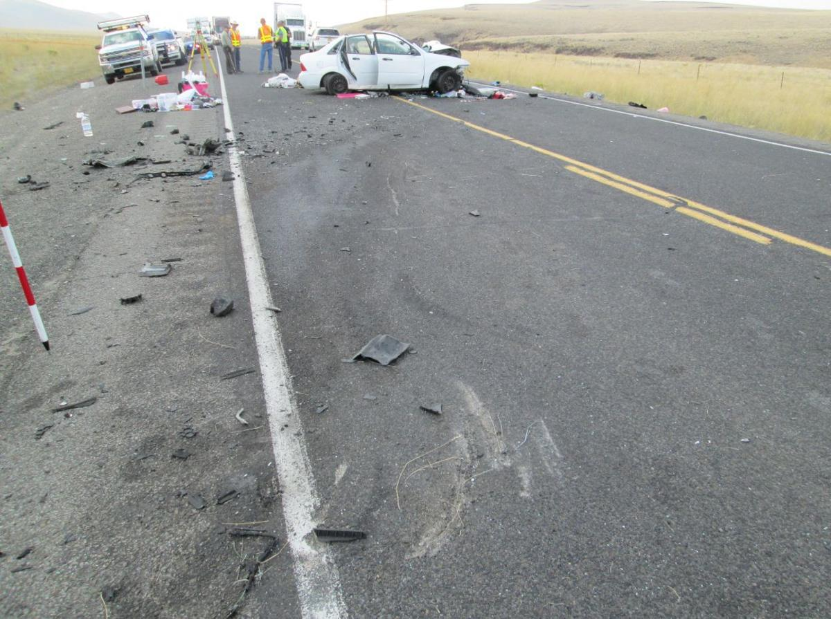 Man killed in head-on crash on US-95 in Oregon | State news