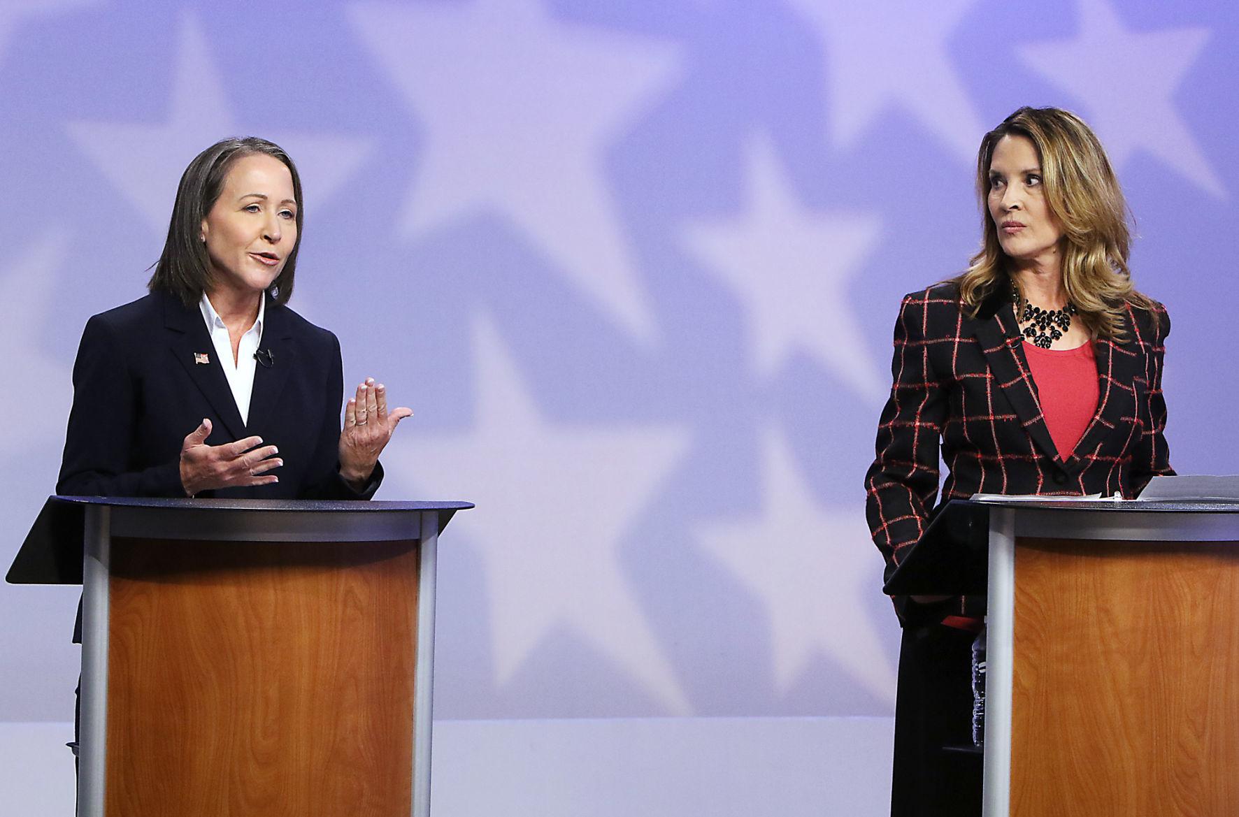 Idaho lieutenant governor hopefuls Collum, McGeachin clash in their only debate | Idaho Press