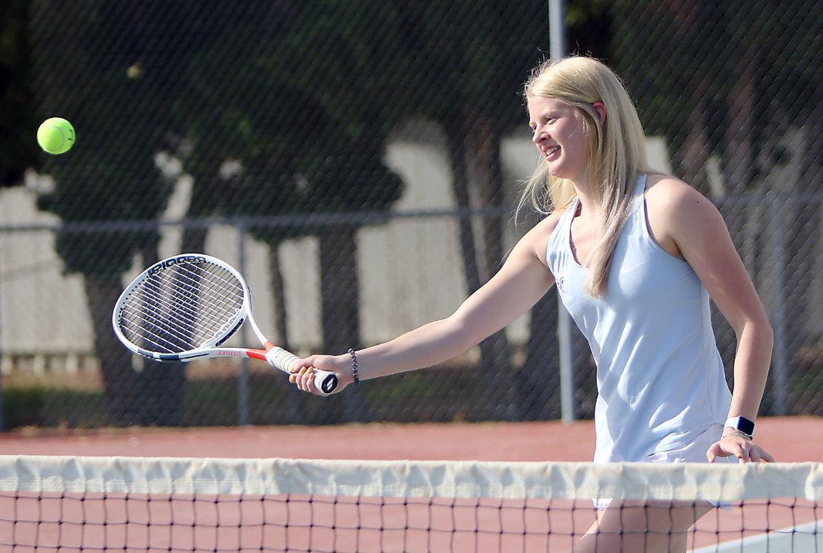 Skyview tennis player Madison Bowers