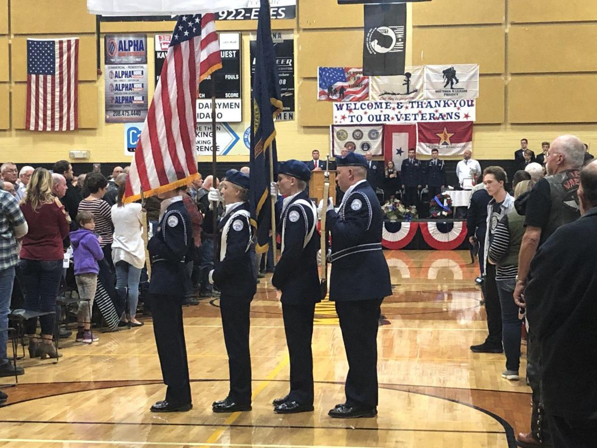 Kuna High School Veteran's Day Assembly 2019