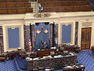 Colt Senate dais