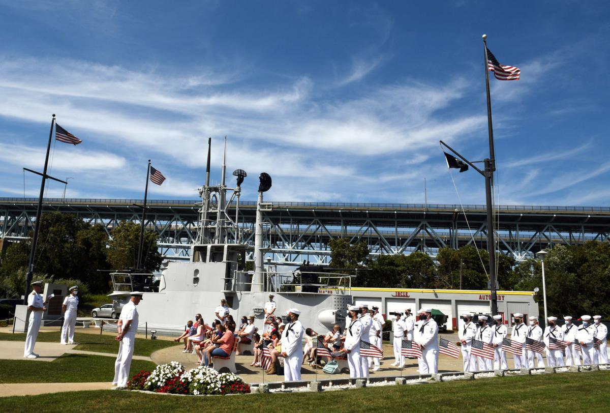 USS Idaho ceremony