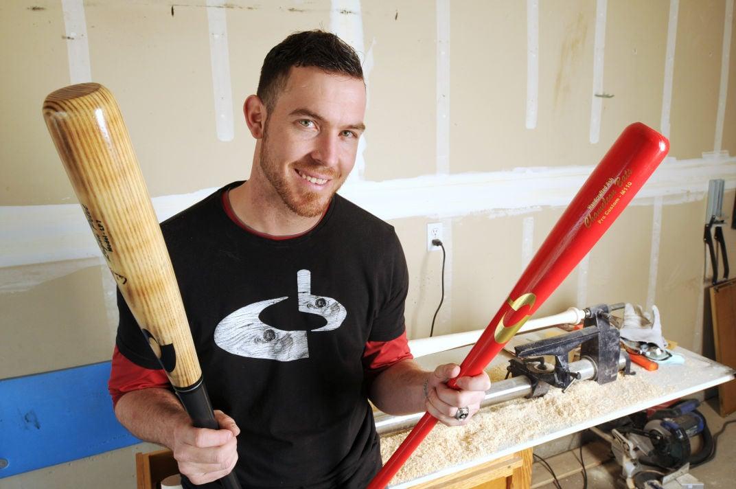 Idahos Bat Man Former Minor League Pitcher Crafts Wood Baseball