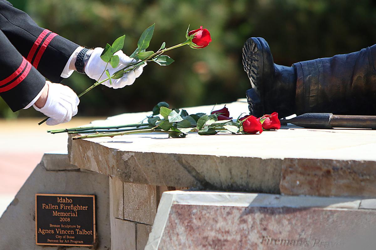 Idaho Fallen Firefighter memorial service